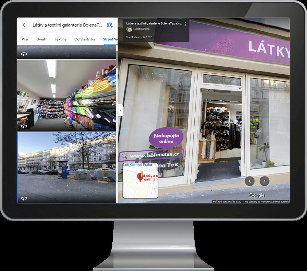 Virtuální prohlídka na Google maps - INNOIT