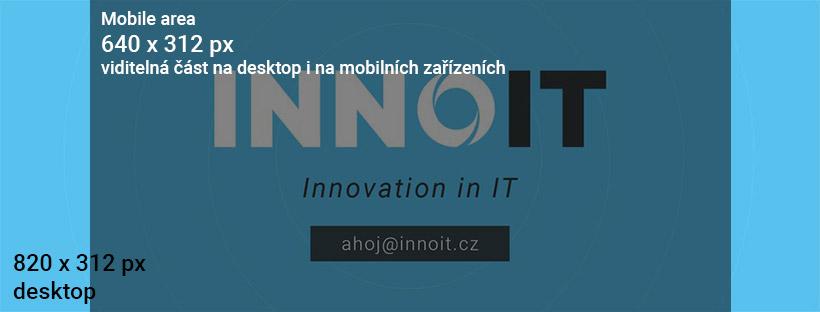 Úvodní fotografie Facebook profilu - INNOIT