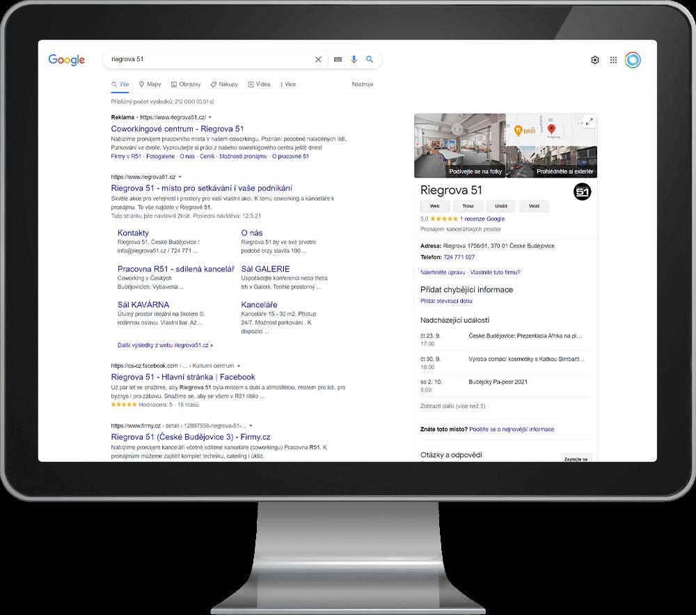 Virtuální prohlídka ve vyhledávači - INNOIT