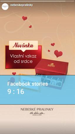 Rozměr pro Facebook stories - INNOIT