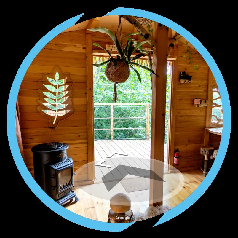 Virtuální prohlídka - TreeHouse Ještěd - INNOIT